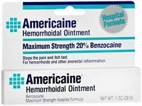 Americaine Hemorrhoidal Ointment 1 Oz (pack Of 2) on sale