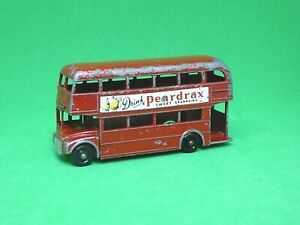 Matchbox-Lesney-No-5c-AEC-London-Routemaster-Bus-muy-rara-039-peardrax-039-calcomanias