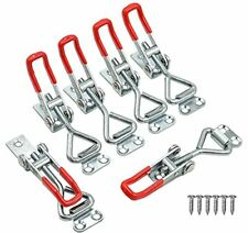 6 Pack Adjustable Toggle Latches With 24pcs Screws Model Toggle Latches 6 Pack