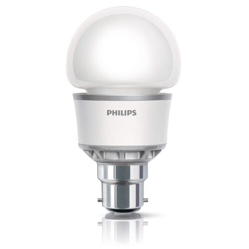 PHILIPS BAYONET B22 BC CAP 5W=25W LED B22 BC ENERGY SAVING LIGHT BULBS LAMP 240v