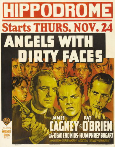 Angels with dirty faces James Cagney movie poster #6