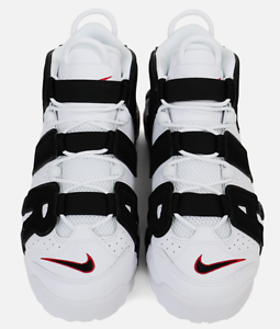 fe53d7f86ea1 Nike Air More Uptempo Scottie Pippen PE White Black 414962-105 ...