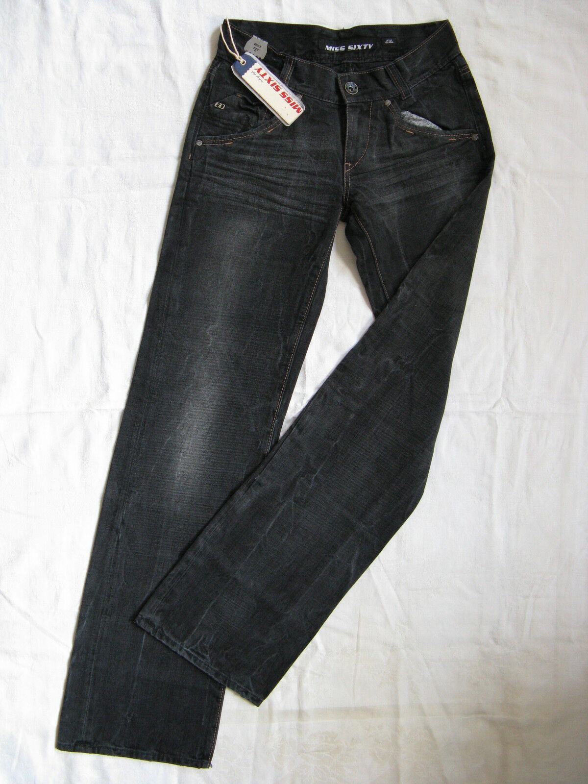 Miss Sixty Jeans Denim Marlene W27 L34 extra low waist regular fit straight leg