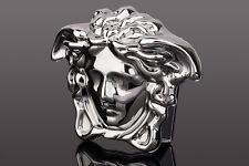Versace Belt buckle Medusa head Silver Mens belts