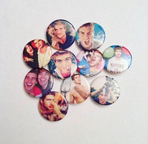 Joey Graceffa Pinback Buttons
