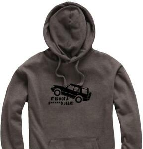 Unisex-Hoody-Hoodie-Land-Rover-Discovery-034-It-is-Not-a-F-g-JEEP-034-Logo