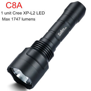 Sofirn-C8A-LED-Flashlight-1747-Lumens-Powerful-CREE-XPL2-Torch-Use-18650-Battery