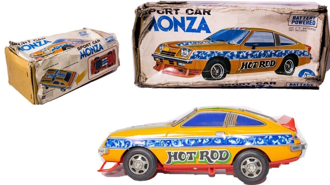 Vintage 1975 Chevrolet Monza Rallye Auto W   Batterie Funktion und Geräusche