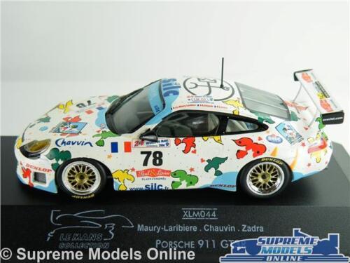 ONYX PORSCHE 911 GT3R MODEL CAR 1:43 SIZE LE MANS 2000 TOURING ZADRA XLM044 T34Z