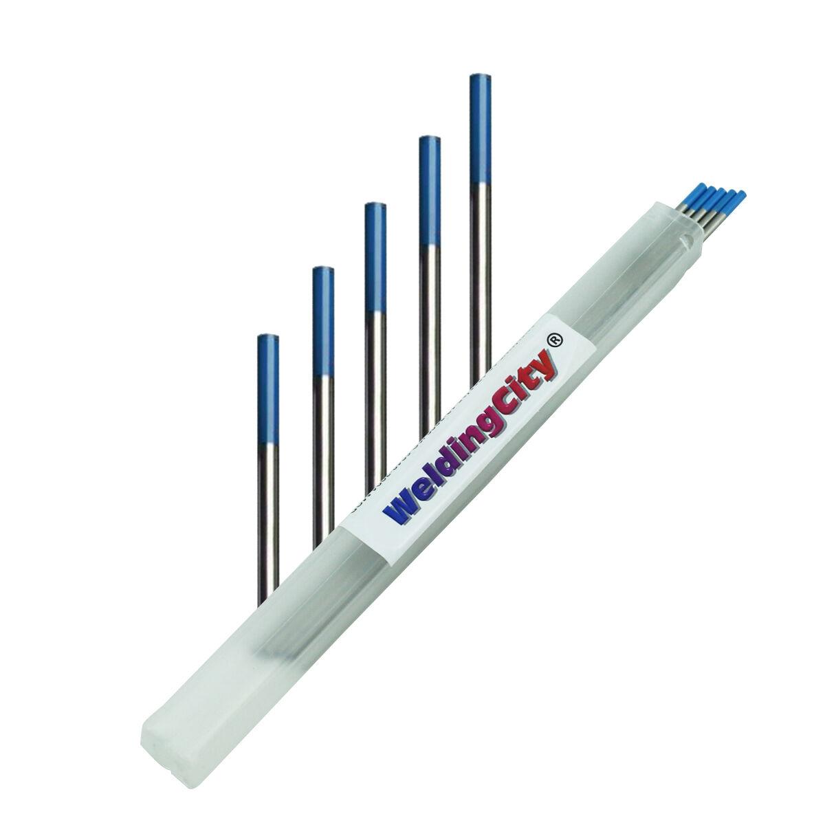 WeldingCity Red EWTh20 Premium TIG Welding Tungsten Electrode Rod 10 Pack