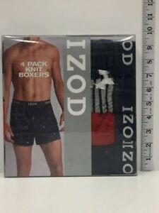 IZOD-Mens-Boxers-4-Pack-XL