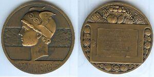 Medaille-de-table-AGEN-inauguration-chambre-commerce-president-LEBRUN-1938