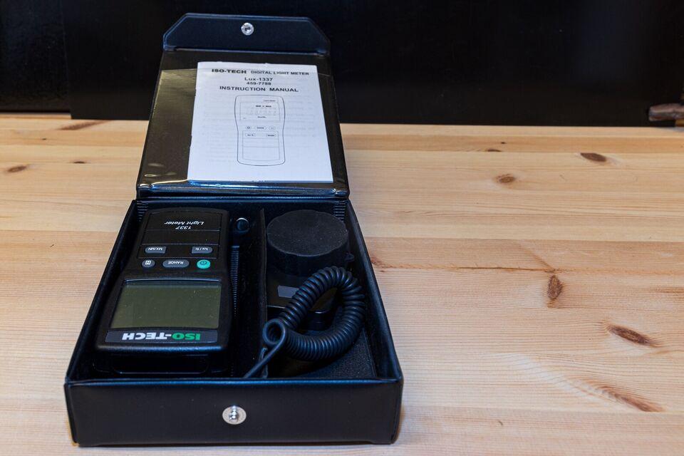 light meter 1337, ISO-Tech, 1337