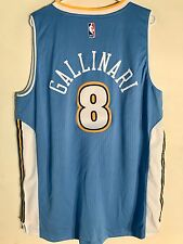 Adidas Swingman 2015-16 NBA Jersey Denver Nuggets Danilo Gallinari Light B  XL 4fe24fb41
