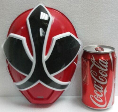 "Japan Bandai SAMURAI RED POWER RANGERS SHINKENGER 8/"" Plastic MASK"
