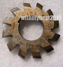 M0.5 20 degree #2 Cutting Range 14-16 Teeth HSS Module 0.5 Involute Gear Cutter