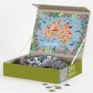NEW Thousand Piece Jigsaw Puzzle - Australia by Journey of Something