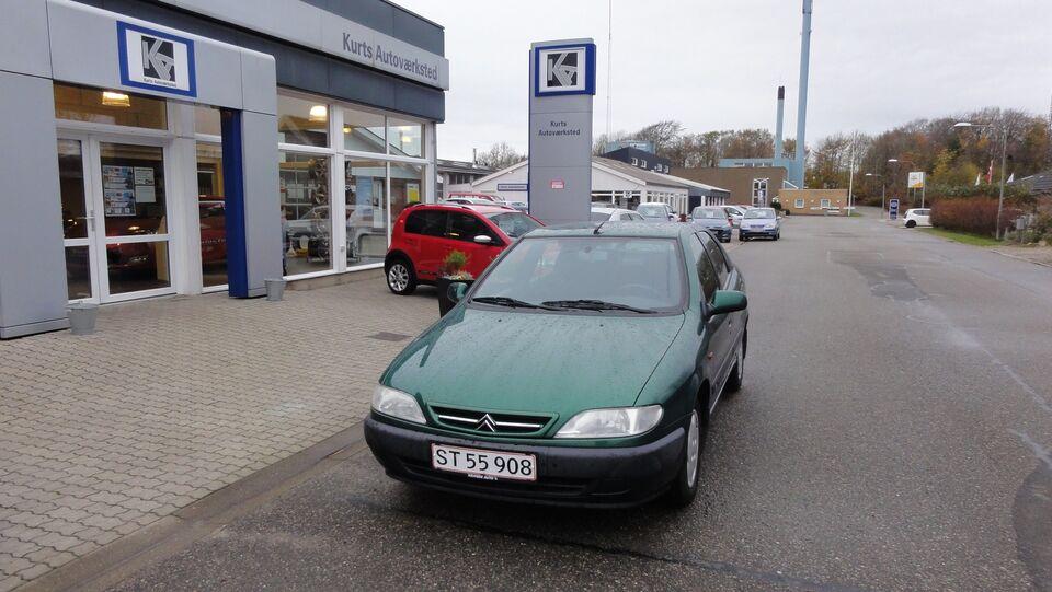 Citroën Xsara 1,6i SX Benzin modelår 1998 km 173000