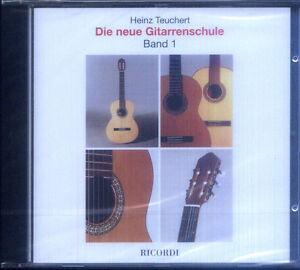 Ubungs-CD-zu-Heinz-Teuchert-Die-neue-Gitarrenschule-Band-1-keine-Noten