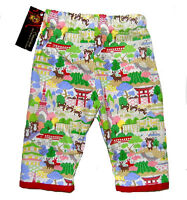 Harajuku Japanese Asian Toddler Girl Boy Red Punk Bottoms Baby Pants Clothes