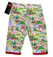 Harajuku Japanese Asian Toddler Girl Boy Red Punk Bottoms Baby Pants Clothes