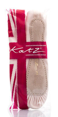 rosa Leder komplettsohle Ballettschuhe Kinder & Erwachsene alle Größen von Katz