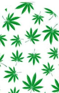 20-WATER-SLIDE-NAIL-ART-TRANSFER-DECALS-GREEN-MARIJUANA-LEAF-FULL-NAIL