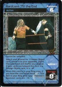 WWE-Raw-Deal-CCG-Summer-Slam-6-0-Hardcore-039-Til-The-End-42-150