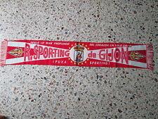 d1 sciarpa SPORTING GIJON FC football club calcio scarf bufanda spagna spain