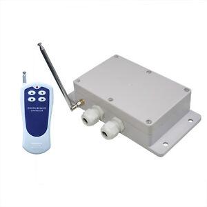 Hochleistung AC 230V Motorsteuerung Funkmodul + 1 Handsender ...