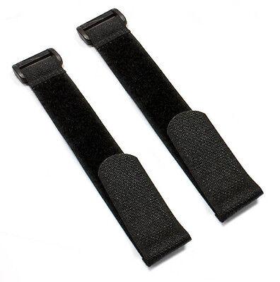 2x Klettband Blau Akku Lipo 260mm x 20mm Empfänger Akkuband Klettgurt Strap