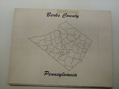 1770 PA MAP BERKS LEBANON DAUPHIN LEHIGH MONTOUR County PENNSYLVANIA HISTORY big