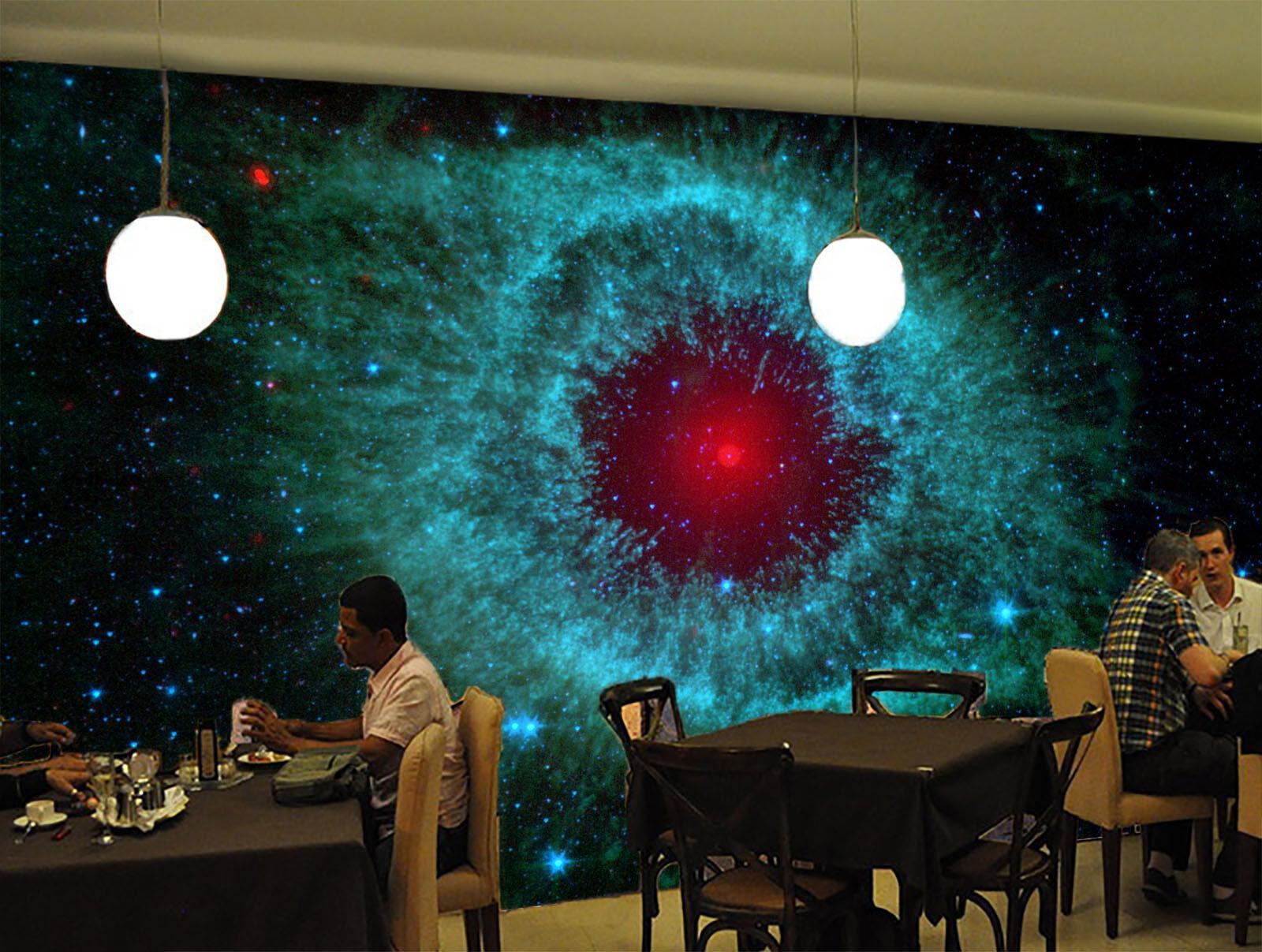 3D Die rede Iris bluees Licht Fototapeten Wandbild Fototapete BildTapete Familie