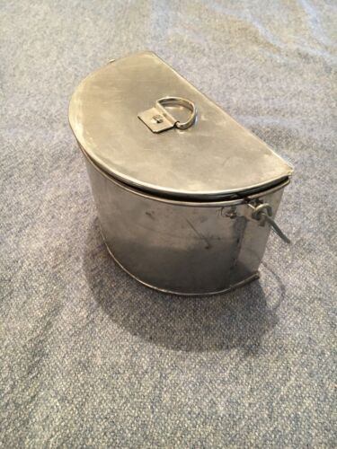 Production Samples C19th Napoleonic British Mess Tins