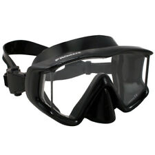 Promate Avanti TL Panoramic Tri-View Edgeless Scuba Dive Mask Snorkeling Gear