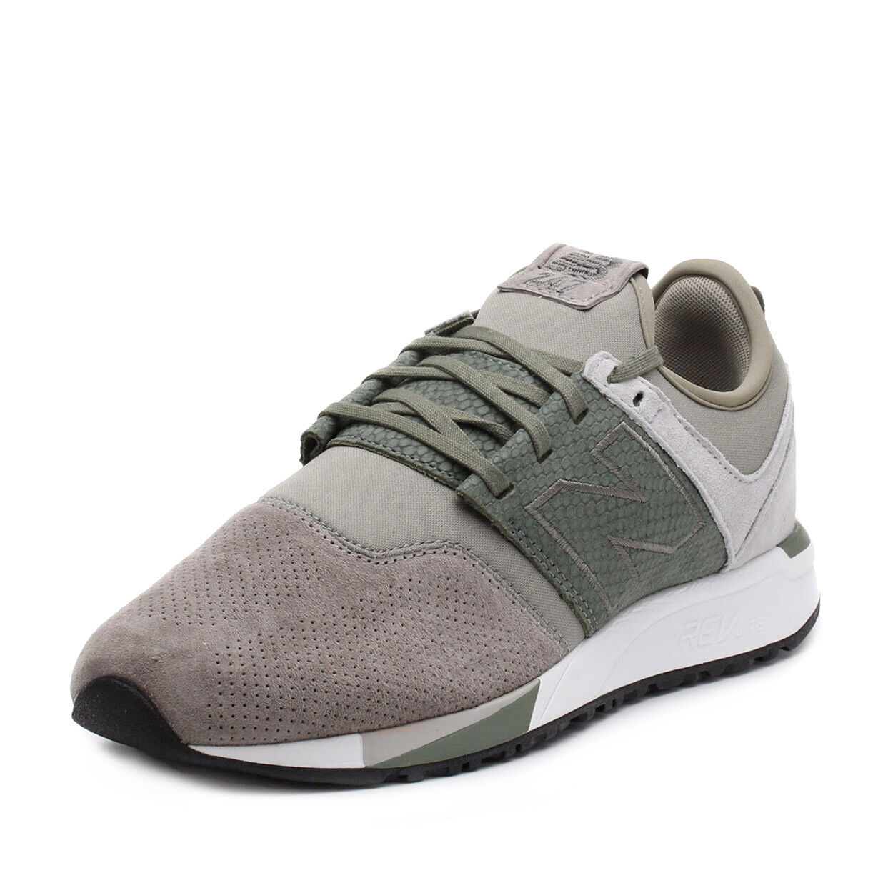 New Balance Mens MRL247RT Grey Green MRL247RT