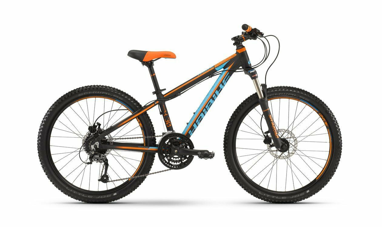 Haibike Rookie 4.30 24  24-G black blue orange matt 2016   4124324630