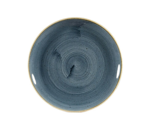 Churchill STONECAST Coupe Plate Blueberry Teller Porzellan 21,7 cm Coupeteller