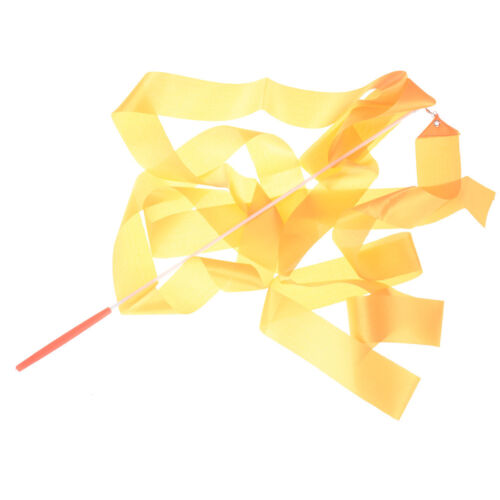 Design Dance Ribbon Gym Rhythmic Gymnastics Rod Art Ballet Twirling Stick JDUK
