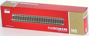 Fleischmann-H0-6101-S-Gerades-Gleis-Laenge-200-mm-10-Stueck-NEU-OVP