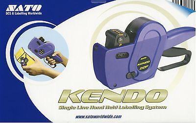 Sato KENDO 6 PREZZO PISTOLA etichette