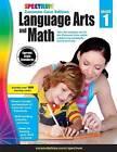 Spectrum Language Arts and Math, Grade 1: Common Core Edition by Spectrum (Paperback / softback, 2015)