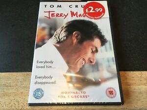 JERRY-MAGUIRE-DVD-TOM-CRUISE-BRAND-NEW-SEALED