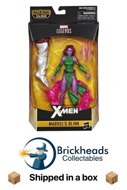 Marvel's Blink | Marvel Legends - X-Men Wave MISB Caliban BAF Hasbro