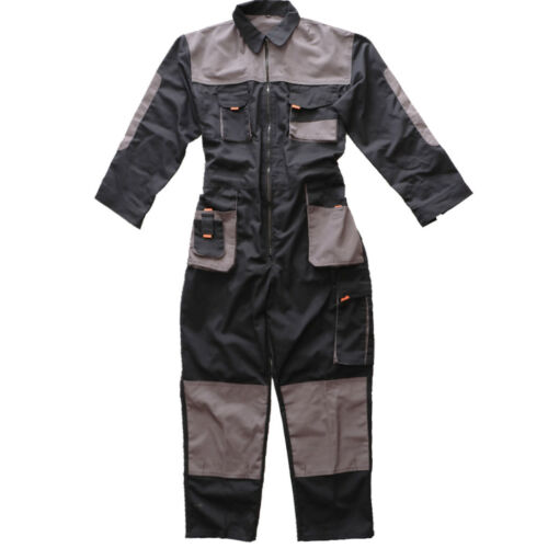 Premium Cotton Working Overall Coverall Protective Uniform Jumpsuit Clothes