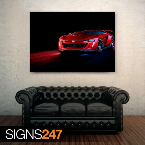 0117 Voiture Poster-Photo Poster print ART Toutes Les Tailles Volkswagen GTI Roadster