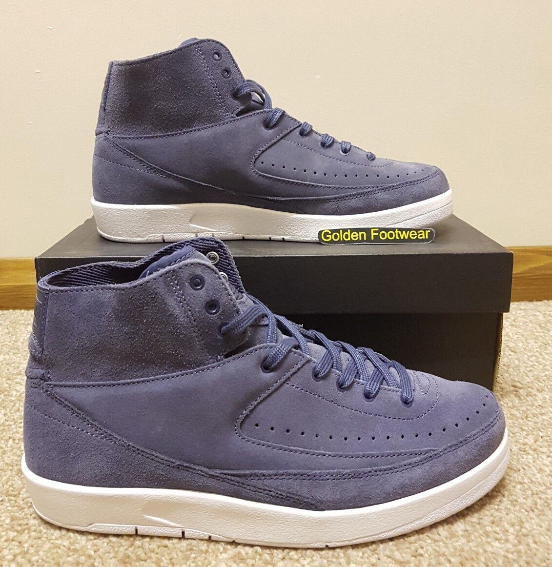 Nike Air Jordan 2 Retro Decon Size 7 UK BNIB Genuine Authentic Mens Trainers