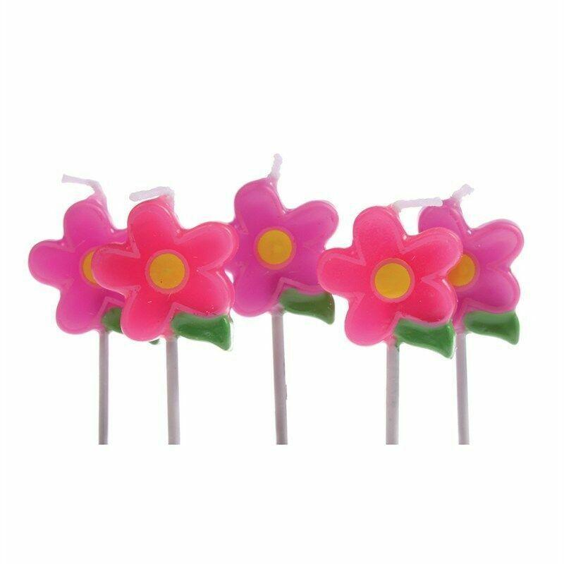 Velas De Flores 5 PCE