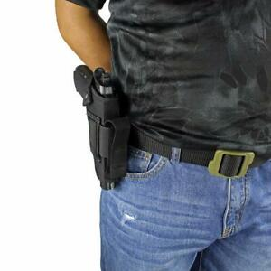 Hand-Gun-Hip-Holster-With-Extra-Magazine-Holder-For-Glock-29-30-36