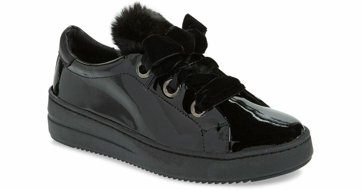 Nuovo FLEXX Groave Faux -Shearling Trim scarpe da ginnastica Flats  Wouomo 10 NIB nero  170  design unico